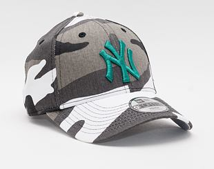 Dětská Kšiltovka New Era 9FORTY Kids MLB All Over Camo New York Yankees Strapback Urban Camo