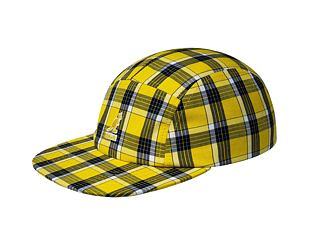 Kšiltovka Kangol Summer Plaid 5 Panel Baseball Yellow Plaid K5278-YP708