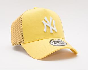 Kšiltovka New Era 9FORTY A-Frame Trucker MLB Tonal Mesh Trucker New York Yankees Snapback Yellow
