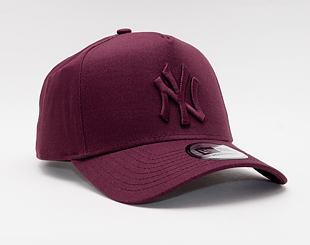 Kšiltovka New Era 9FORTY A-Frame MLB Color Essential New York Yankees Snapback Maroon