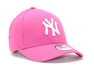 Dětská Kšiltovka New Era League Basic New York Yankees Pink 9FORTY Child Strapback