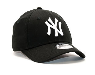 Dětská Kšiltovka New Era League Basic New York Yankees Black Child 9FORTY Strapback