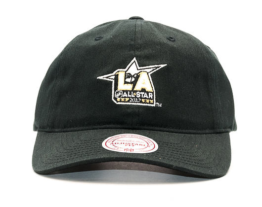 Kšiltovka Mitchell & Ness NHL 2017 All Star Game Dad Hat Black Strapback