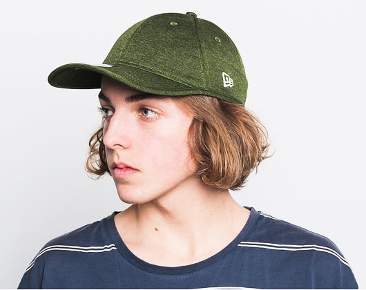Kšiltovka New Era Shadow Tech Heather FORTY9 Rifle Green Strapback