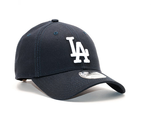Kšiltovka New Era  League Essential Los Angeles Dodgers 9FORTY Strapback Navy / Optic White
