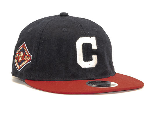 Kšiltovka New Era 9FIFTY Retro Crown Cleveland Indians Coop Flannel OTC