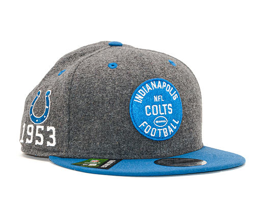 Kšiltovka New Era 9FIFTY NFL Indianapolis Colts ONF19 Sideline 1930 OTC
