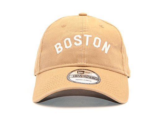 Kšiltovka New Era 9TWENTY Vintage Boston Red Sox Wheat / Off White Strapback