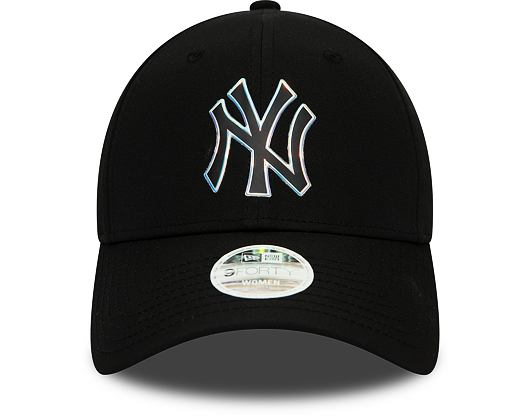 Dámská Kšiltovka New Era 9FORTY New York Yankees Nylon Black