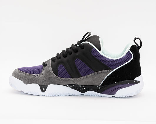 Boty éS Silo GREY/BLACK/PURPLE
