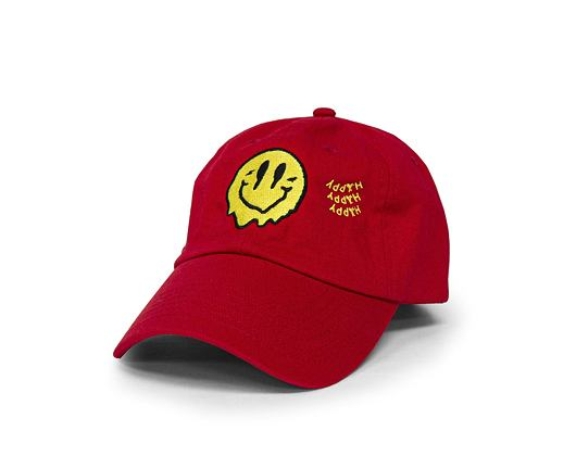 Kšiltovka Alumni Smiley Dad Hat Red