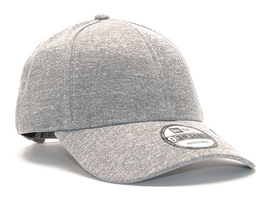 Kšiltovka New Era Jersey Tech 9FORTY Gray Strapback