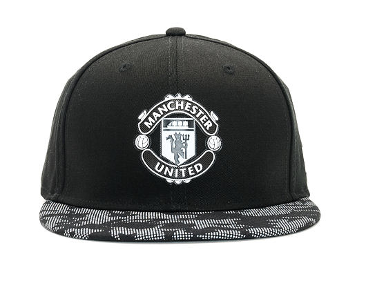Kšiltovka New Era Camo Snap Reflect Manchester United 9FIFTY Black Snapback