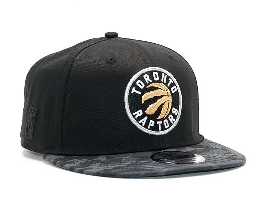 Kšiltovka New Era Team Camo Toronto Raptors 9FIFTY Black/Camo Snapback