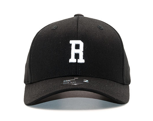 Kšiltovka State of WOW Romeo SC9201-990R Baseball Cap Crown 2 Black/White Strapback
