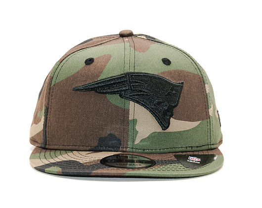 Kšiltovka New Era 9FIFTY Camo New England Patriots Woodland/Black Snapback