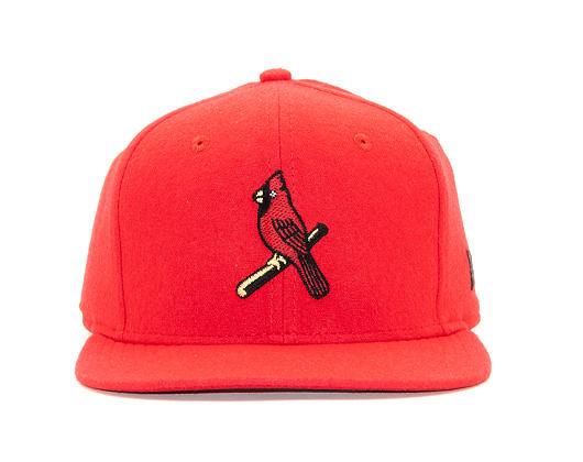Kšiltovka New Era 9FIFTY St. Louis Cardinals Original Fit Cooperstown Scarlet Strapback
