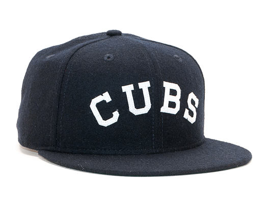 Kšiltovka New Era 9FIFTY Original Fit Chicago Cubs Coop Navy/White Snapback