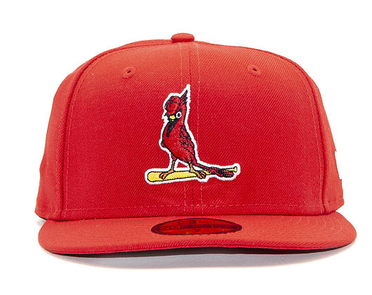 Kšiltovka New Era 59FIFTY St. Louis Cardinals Coops Wool Scarlet