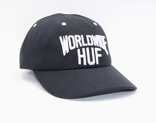 Kšiltovka HUF Manhatten Curved Black