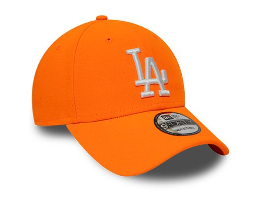 Kšiltovka NEW ERA 9FORTY MLB League Essential Neon Pack Los Angeles Dodgers Orange