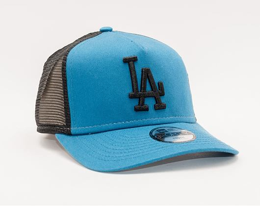Kšiltovka New Era 9FORTY Kids A-FRAME Trucker MLB League Essential Los Angeles Dodgers