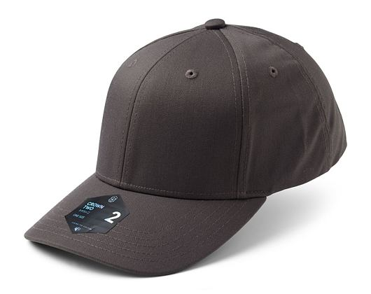 Kšiltovka State of WOW Crown 2 Trucker Dark Grey Velcro Strapback