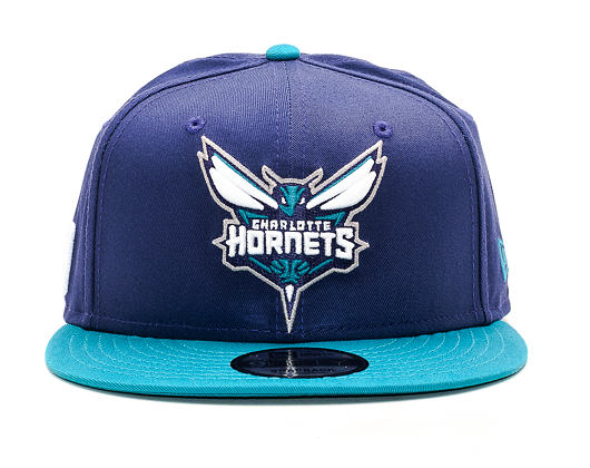 Kšiltovka New Era Team Charlotte Hornets Blue 9FIFTY Snapback