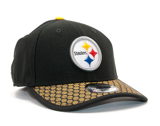 Kšiltovka New Era On Field NFL17 Pittsburgh Steelers 39THIRTY Official Team Color