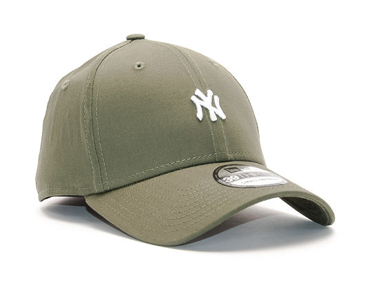 Kšiltovka New Era Mini Logo New York Yankees 39THIRTY New Olive/White