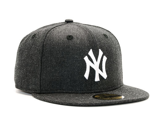 Kšiltovka New Era Seasonal Heather New York Yankees 59FIFTY Heather Black/White