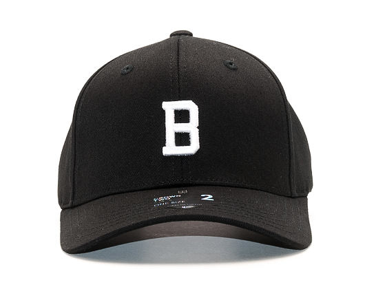 Kšiltovka State of WOW Bravo  Baseball Cap Crown 2 Black/White Strapback