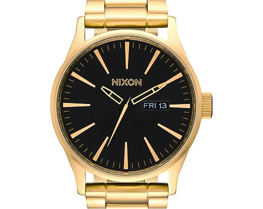 Hodinky Nixon Sentry SS All Gold Black A356510