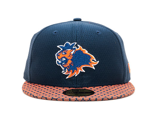 Kšiltovka Prague Lions 59FIFTY Honeycomb Navy