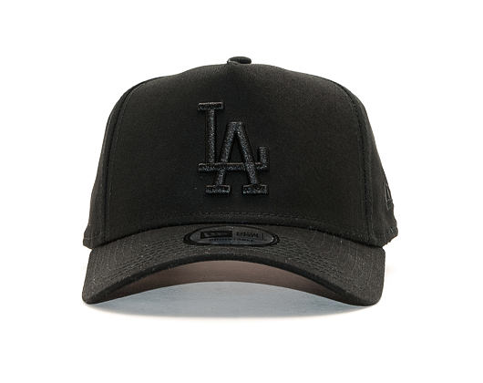 Kšiltovka New Era 9FORTY A-Frame Los Angeles Dodgers League Essential Black/Black Snapback