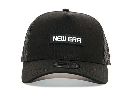 Kšiltovka New Era 9FORTY Trucker Tech Black / Optic White Snapback
