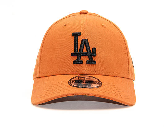 Kšiltovka New Era 9FORTY The League Essential Los Angeles Dodgers Rust / Black Strapback