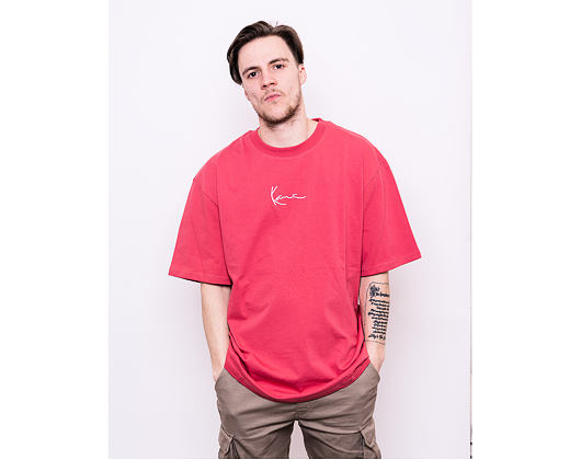 Triko Karl Kani Signature Ringer Tee 6060596 Red/White