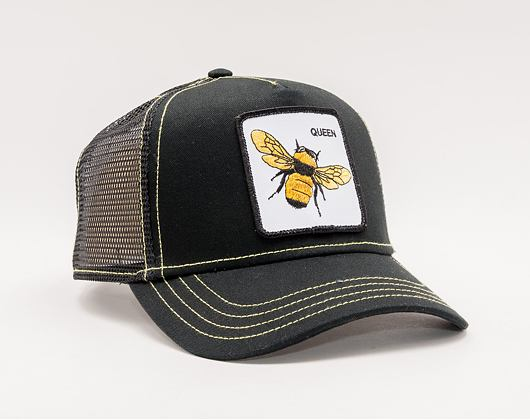 Kšiltovka Goorin Trucker Queen Bee Black 01-0245