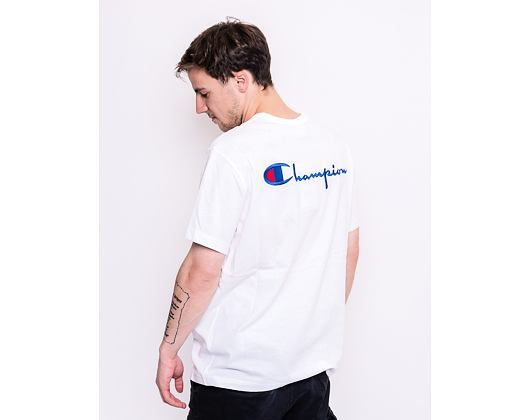 Triko Champion Crewneck T-Shirt White 214279 WW001