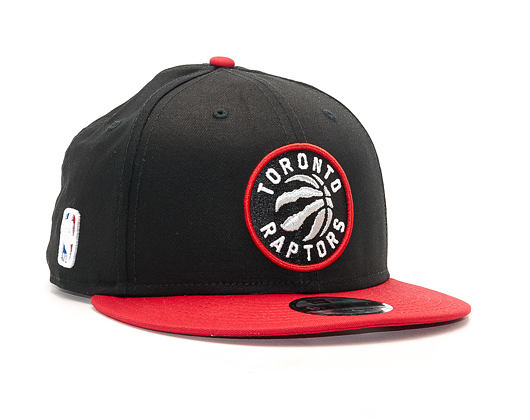 Kšiltovka New Era Team Toronto Raptors 9FIFTY Black/Red Snapback