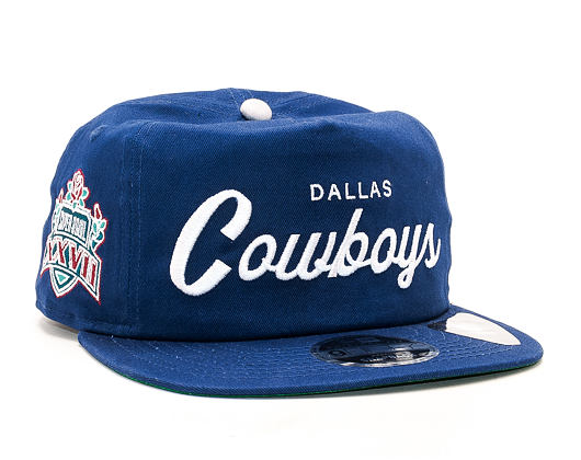 Kšiltovka New Era Throwback Dallas Cowboys 9FIFTY Official Team Colors Snapback