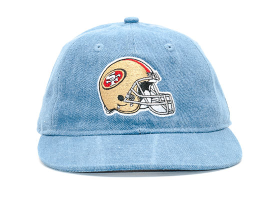 Kšiltovka New Era Team Helmet San Francisco 49ers 9FIFTY Sky Strapback