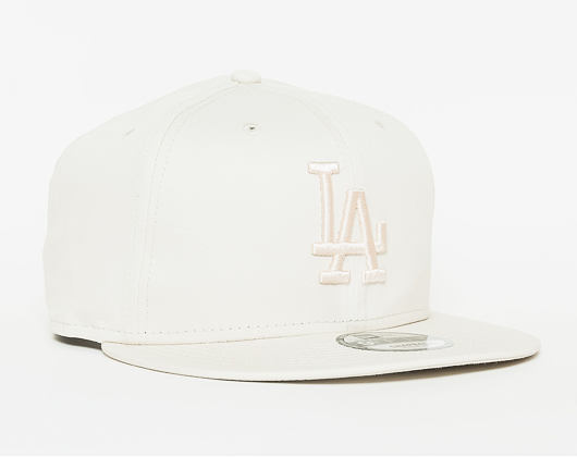 Kšiltovka New Era League Essential Los Angeles Dodgers 9FIFTY Off White Snapback
