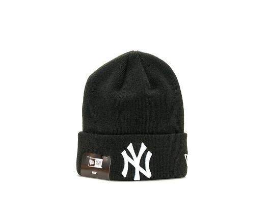 Dětský Kulich New Era League Essential Cuff New York Yankees Youth Black/White