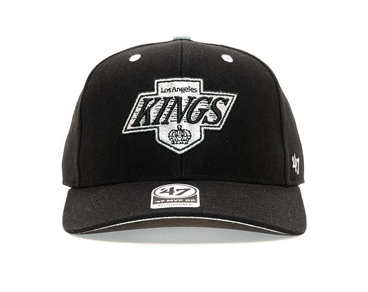 Kšiltovka 47 Brand Los Angeles Kings Audible MVP DP Black Strapback