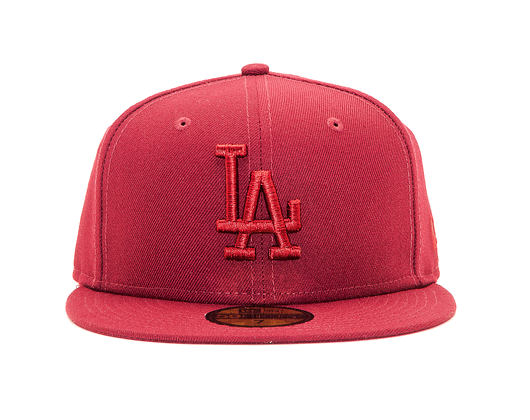 Kšiltovka New Era 59FIFTY Los Angeles Dodgers League Essential Cardinal