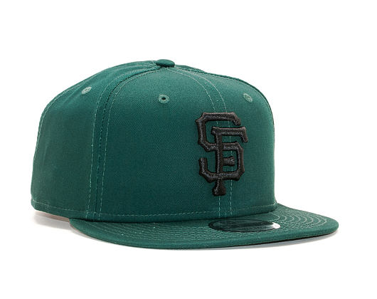 Kšiltovka New Era 9FIFTY San Francisco Giants League Essential Dark Green/Black Snapback