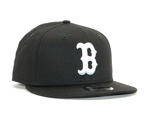 Kšiltovka New Era 9FIFTY The League Essential Boston Red Sox Black / Optic White Snapback