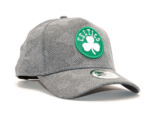 Kšiltovka New Era 9FORTY A-Frame Engineered Plus Boston Celtics Black / Team Color Strapback